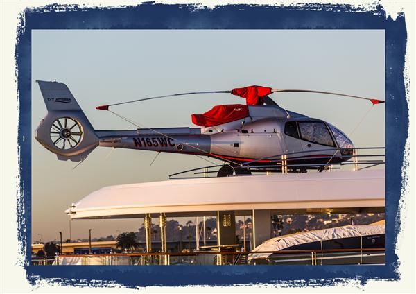 Attessa IV's helicopter
