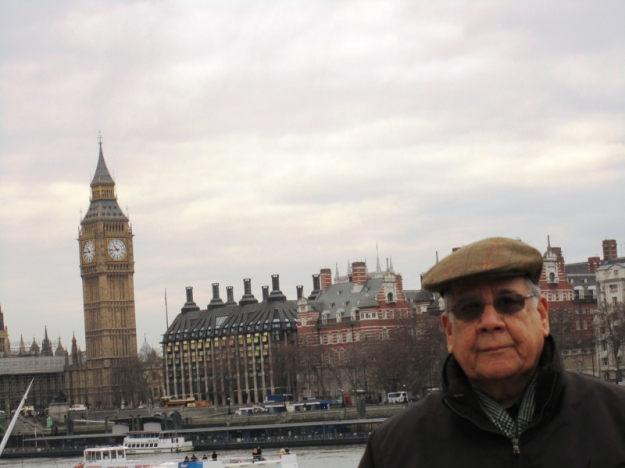 Dad in England
