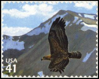 Scot #4198b - Golden Eagle