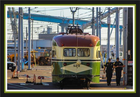 San Diego Trolley vintage streetcar