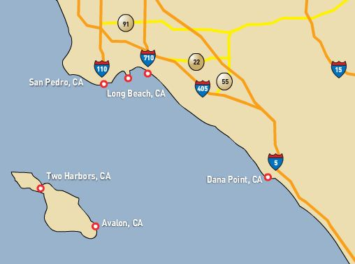 Catalina Express locations