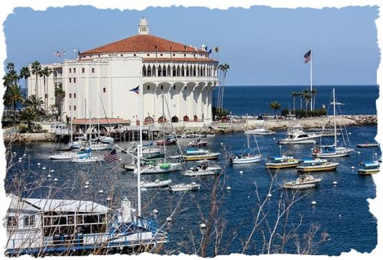 Avalon Casino on Santa Catalina Island