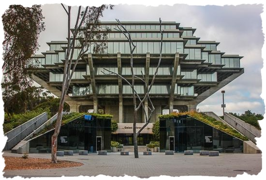 Geisel Library at the University of California San Diego