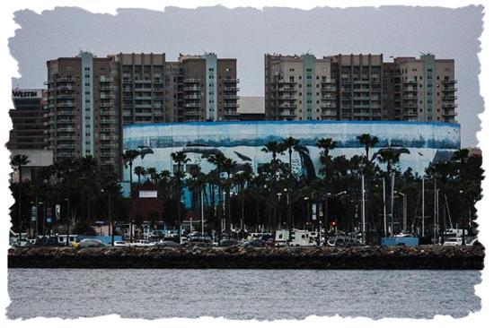 Aquarium of the Pacific in Long Beach, California