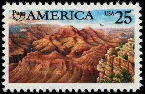 Scott #2512, Grand Canyon National Park