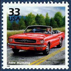 Scott #3188h - Ford Mustang