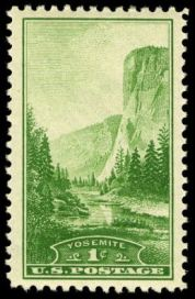 Scott #740, Yosemite National Park