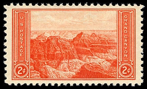 Scott #741, Grand Canyon