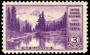 Scott #742, Mt. Rainier