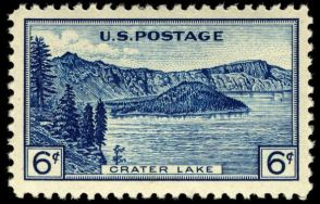 Scott #745, Crater Lake National Park