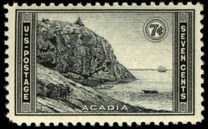 Scott #746, Acadia National Park