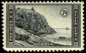 Scott #746, Acadia National Park