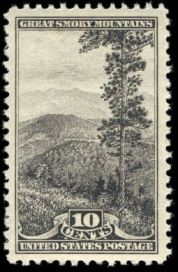 Scott #749, Great Smoky Mountains National Park