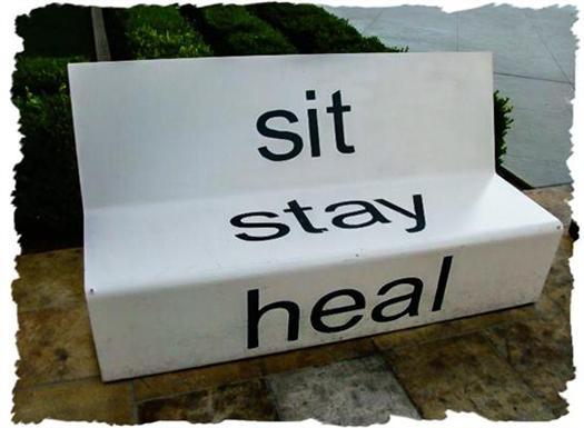 Hotel bench