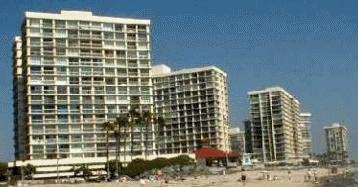 Coronado Shores condominium towers