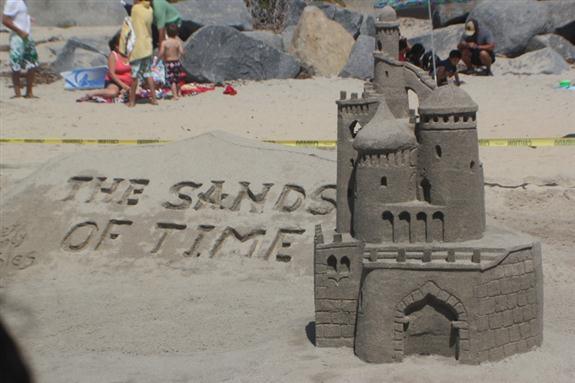 Imperial Beach sand castle world championships