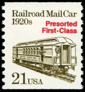Scott #2265, Railroad Mail Car