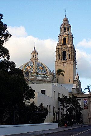 California Tower in Balboa Park, San Diego, California
