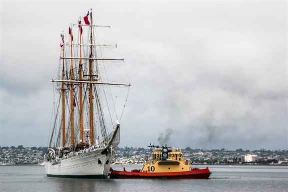 B.E. Esmeralda visiting San Diego