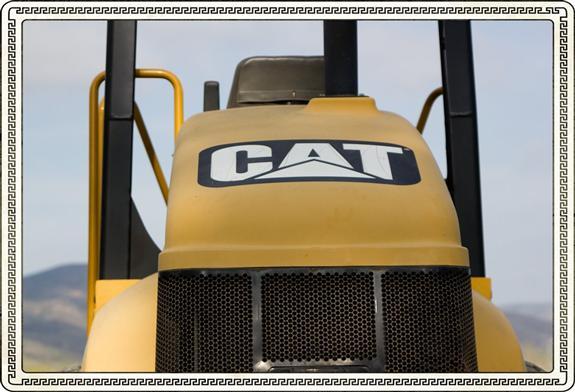 Caterpillar tractor