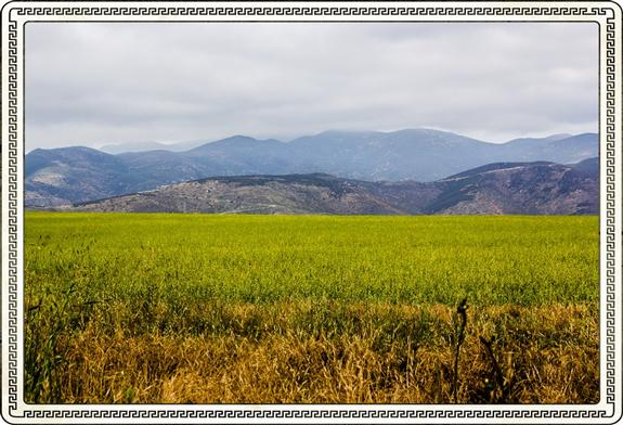 Panoramic view of south-central San Diego County