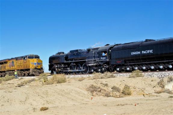 Union Pacific trains