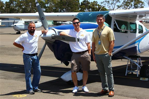 San Diego Sky Tours crew