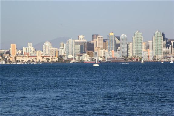 Downtown San Diego, north end