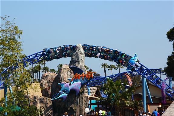 The new Manta ride at SeaWorld San Diego