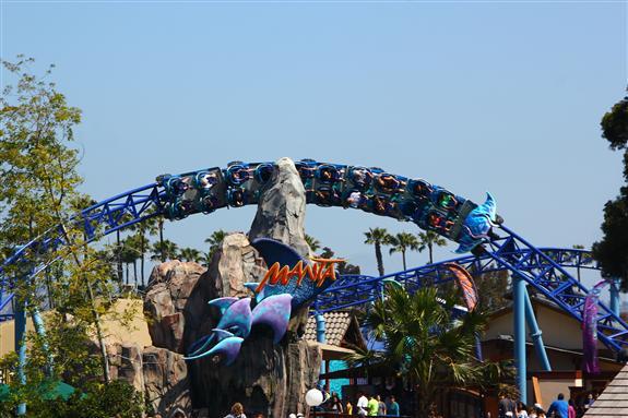 The new Manta ride at SeaWorld San Diego