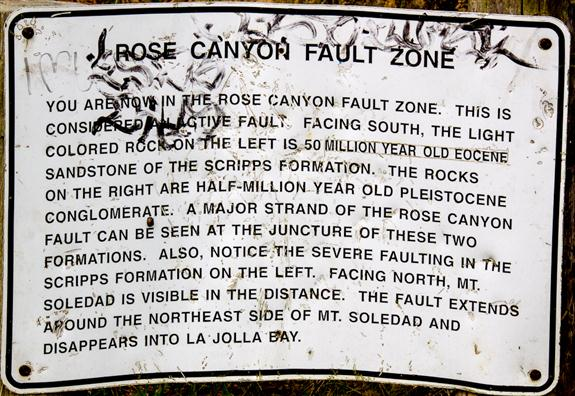 Rose Canyon Fault Zone
