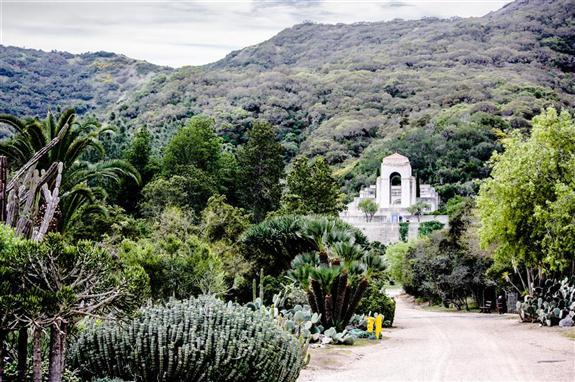 The Wrigley Memorial On Santa Catalina Island Russel Ray Photos
