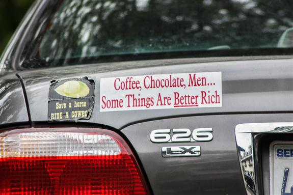 Some things are better rich