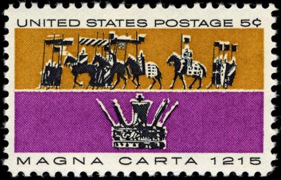 Scott #1215 — Magna Carta