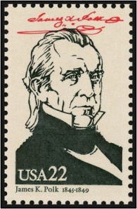 Scott #2217b— James K. Polk