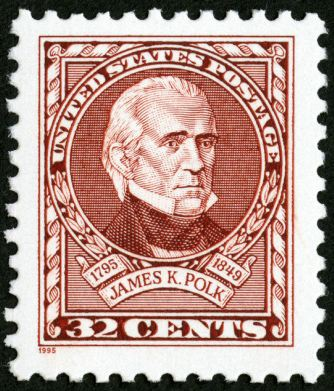 Scott #2587 — James K. Polk