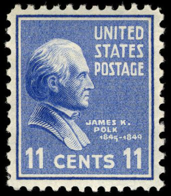 Scott #816 — James K. Polk