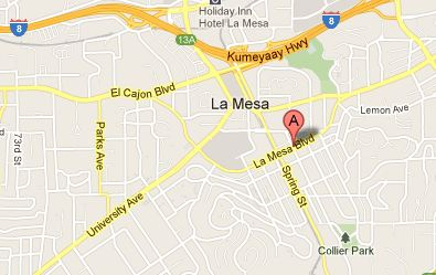 La Mesa Village, La Mesa, California