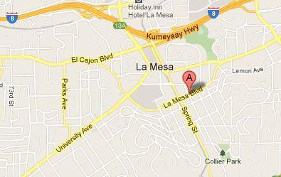 La Mesa Village, La Mesa, California