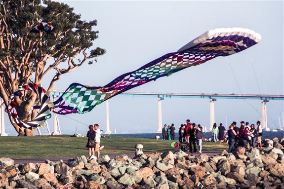 Benjamin Franklin's kite?
