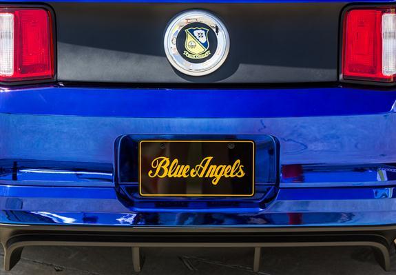 Blue Angels Mustang