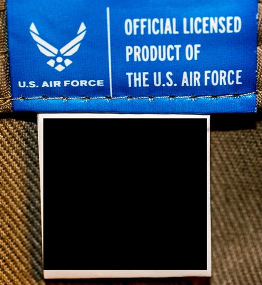 Official licensed product of the U.S. Air Force