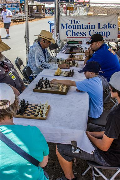 Mountain Lake Chess Club at the San Diego County Fair