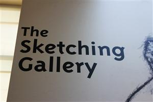 The Sketching Gallery at The Getty Center in Los Angeles