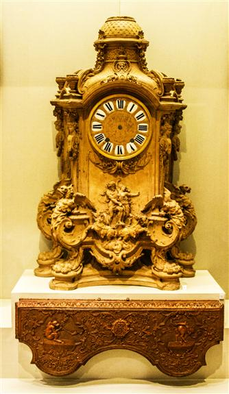 Model for a mantel clock, Park, ca. 1710