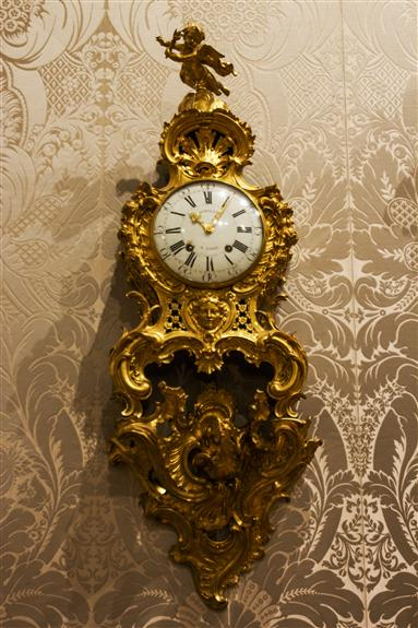 Clock on bracket, Paris, 1758