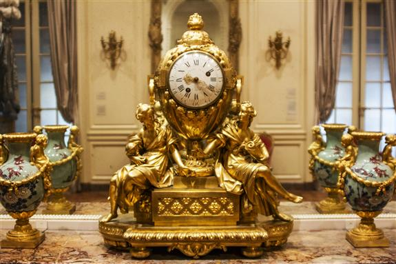 Mantel clock, Paris, ca. 1772