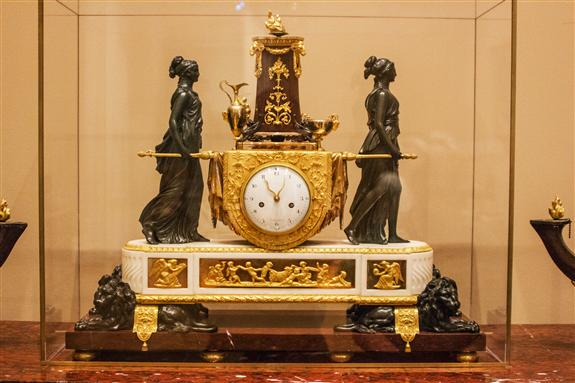 Mantel clock, Paris, ca. 1789