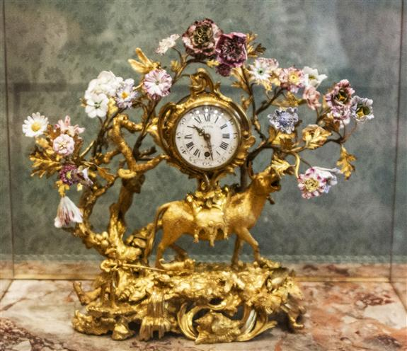 Mantel clock, Paris, ca. 1747