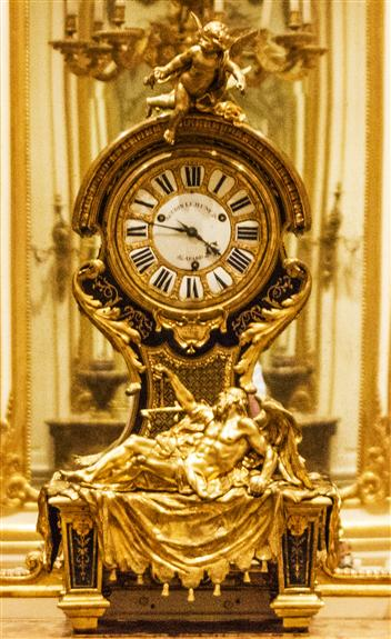 Mantel clock, Paris, ca. 1720